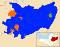 Mendip 2015 election result map.png