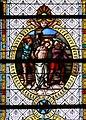 Merazhofen Pfarrkirche Chorfenster Geißelung.jpg