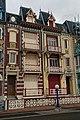 Mers-les-Bains - Quartier Balnéaire - Esplanade du Général Leclerc - View South - Grand Urbanisation at the Seaside 1880-96 in Art Nouveau - Anglo-Norman Style.jpg