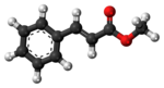 Methyl cinnamate 3D ball.png