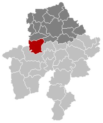 Mettet - Image: Mettet Namur Belgium Map