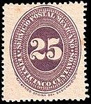 Mexico 1886 25c Sc183 unused.jpg
