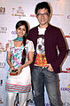 Meying chang and vandana pathak colors indian telly awards.jpg