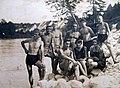 Mišačani na Savi, okrog 1928.jpg
