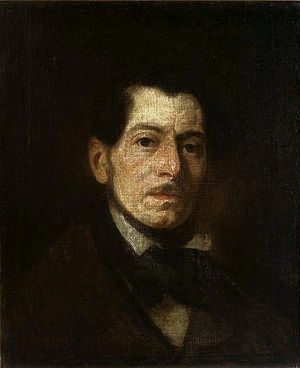 Art in Poland - Image: Michałowski Self portrait