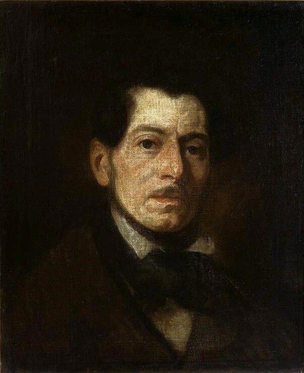 Michałowski Self-portrait