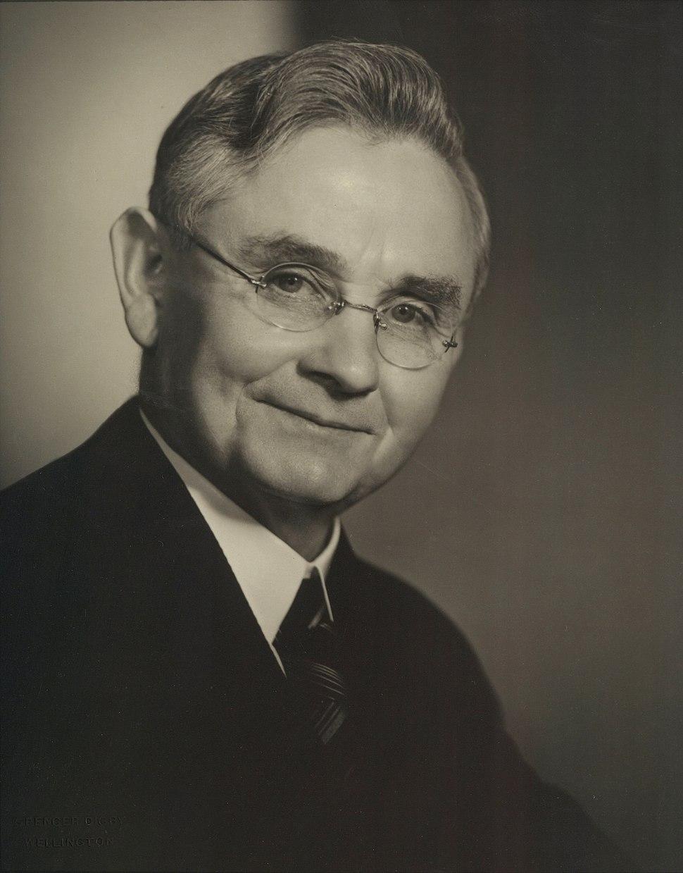 Michael Joseph Savage Portrait