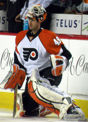 Michael Leighton - Image: Michael Leighton Flyers