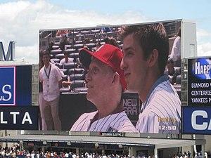 Michael Goldsmith - Michael and Austen Goldsmith at MLB 4 ALS Event 7/4/2009