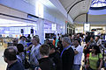 Microsoft developers queue up for the after hours event (6857361014).jpg