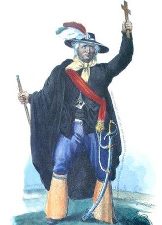 Miguel Hidalgo y Costilla - Image: Miguel Hidalgo (2) by Claudio Linati 1828
