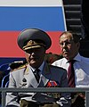 Mikhail Mishustin and members of the Government attend the military parade 02.jpg