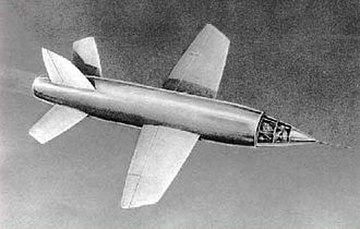 Sound barrier - The prototype Miles M.52 turbojet powered aircraft, designed to achieve supersonic level flight.