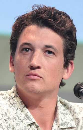Miles Teller - Teller at the 2015 San Diego Comic-Con International promoting Fantastic Four