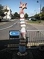 Millennium Milepost, Montgomery Street - geograph.org.uk - 1670014.jpg