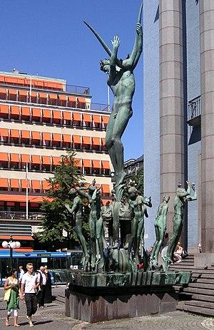 Stockholm Concert Hall - Image: Milles Orfeus 2008a