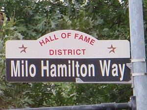 Milo Hamilton - Milo Hamilton Way in Houston