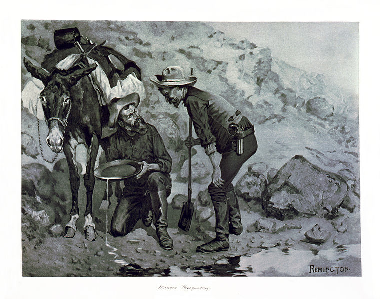 File:Miners Prospecting, Frederic Remington.jpg