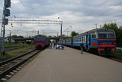 Minsk Institut Kultury railplatform 02.jpg