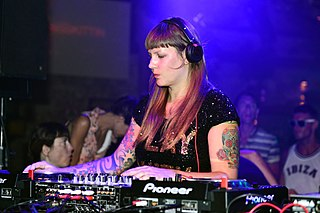 Miss Kittin French electronic musician