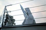 Missile Tartar sur rampe Mk 13
