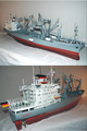 Model of the Bremer DDG-training and heavy Lift ship Sturmfels.png