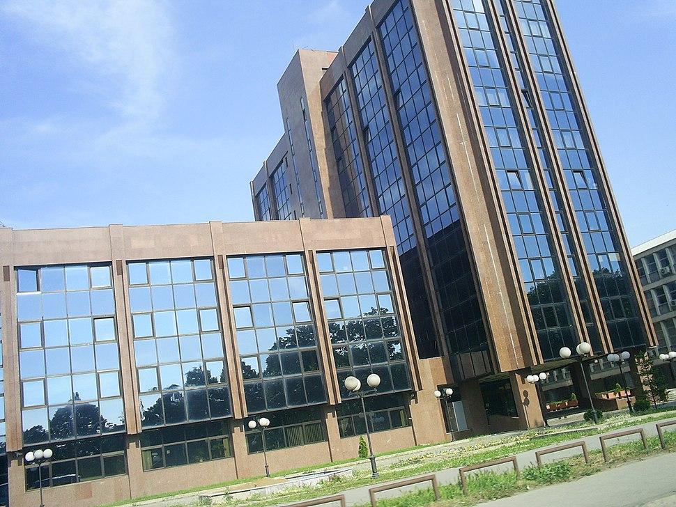 Modern Building in Skopje