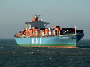 Mol Precission p2 approaching Port of Rotterdam, Holland 29-Jan-2006.jpg