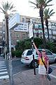 Mom at Kikar Yitzhak Rabin (Rabin Square) (3756488501).jpg