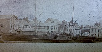 SS Ellan Vannin (1883) - Image: Mona's Isle pictured at Ramsey