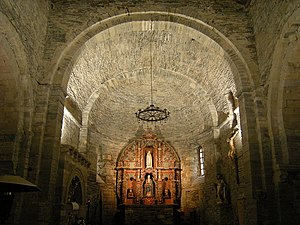 Galician-Asturian - Monastery of Oscos Apse
