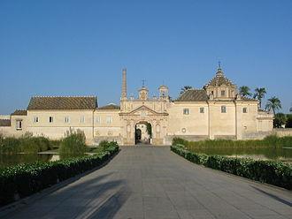 Monastery of Santa Maria de las Cuevas - Monastery of the Cartuja
