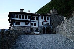 Saint Jovan Bigorski Monastery - Image: Monastery Sveti Jovan Bigorski, Macedonia (15)