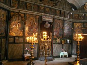 Dryanovo Monastery - Monastery church interior
