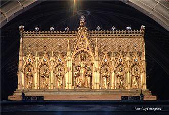 Ducasse de Mons - The shrine of Waltrude