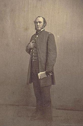 Montgomery C. Meigs - Montgomery C. Meigs in March 1861.