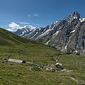 Mont Blanc and Grandes Jorasses - Vallone di Malatrà, Courmayeur, Aosta, Italy - August 8, 2016.jpg