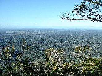 Monte Pascoal National Park - Image: Monte Pascoal Vista