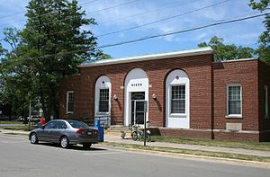 Monticello, Illinois - Monticello Post Office
