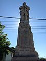 Monumentul Eroilor căzuţi în primul război mondial din Tâncăbești - plan apropiat.JPG