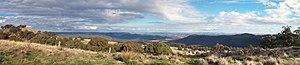 Moonbi Range - Image: Moonbi range pano