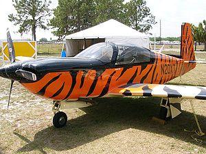 Mooney M20 - Mooney M20T Predator prototype, N20XT, on display at Sun 'n Fun 2006
