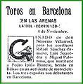 Morenito sustituido en Barcelona por accidente de moto. 11-1928.jpg
