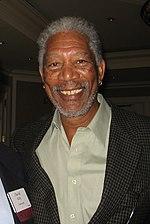 Photo of Morgan Freeman attending the Forbes MEET Conference in Los Angeles.