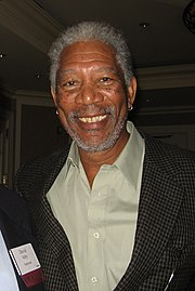 Morgan Freeman, le 24 octobre 2006.