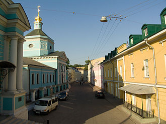 Tagansky District - A historic street in the Taganka District