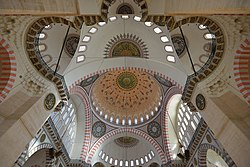 Mosque in Istanbul internal view.jpg