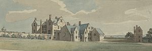 Mostyn baronets - Mostyn Hall