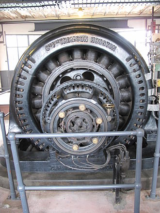 Thomson-Houston Electric Company - Engine built by Thomson Houston
