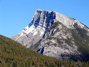 Orogeny - Mount Rundle, Banff, Alberta.